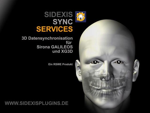SIDEXIS SYNC SERVICES 2.0 jetzt auch für 3D Volumendaten von Sirona GALILEOS und XG3D